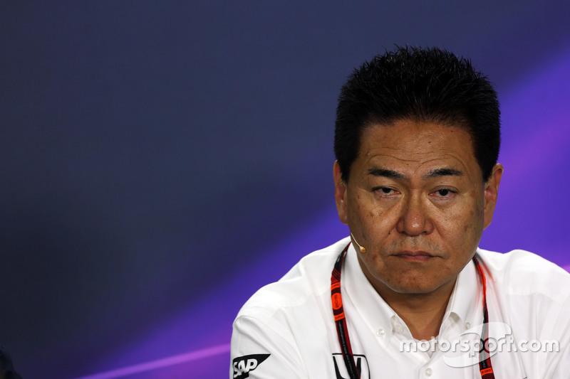 Yasuhisa Arai, Chief Officer Honda Motorsport saat di Konferensi Pers FIA