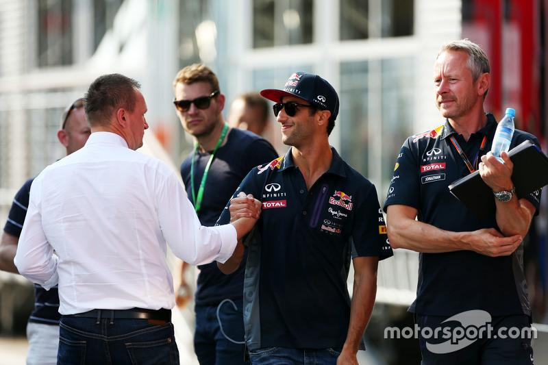 Daniel Ricciardo, Red Bull Racing dengan Jonathan Wheatley, Red Bull Racing Team Manager