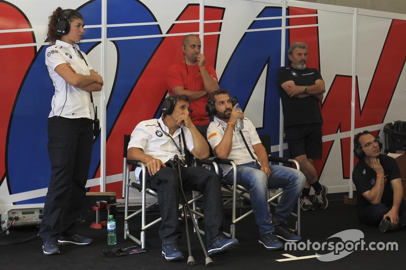 Alex Zanardi dan Timo Glock