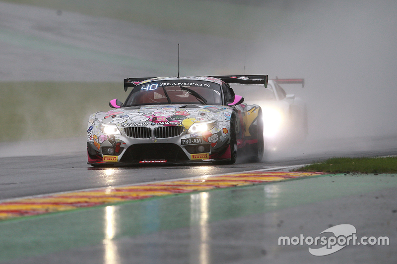 #240 BMW Racing Against Cancer BMW Z4: Pascal Witmeur, Jean-Michel Martin, Eric van de Poele, Marc Duez
