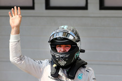 Second place Nico Rosberg, Mercedes AMG F1 Team