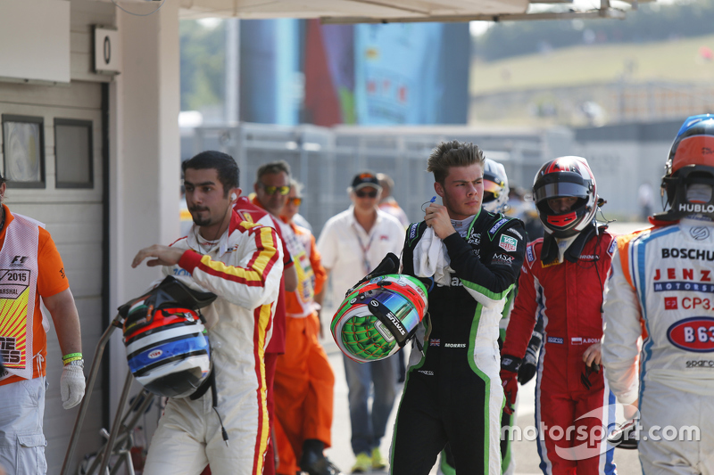 Zaid Ashkanani, Campos Racing, Seb Morris, Status Grand Prix and Aleksander Bosak, Arden Internation