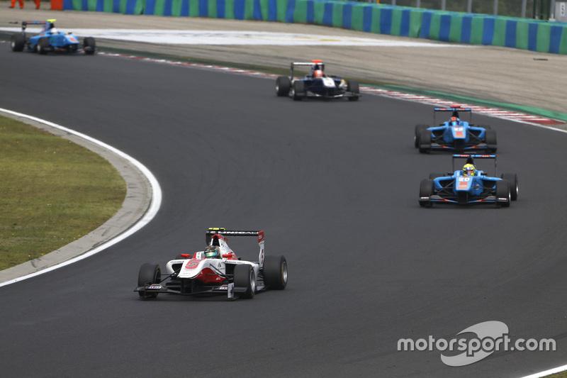 Marvin Kirchhofer, ART Grand Prix memimpin Pal Varhaug, Jenzer Motorsport