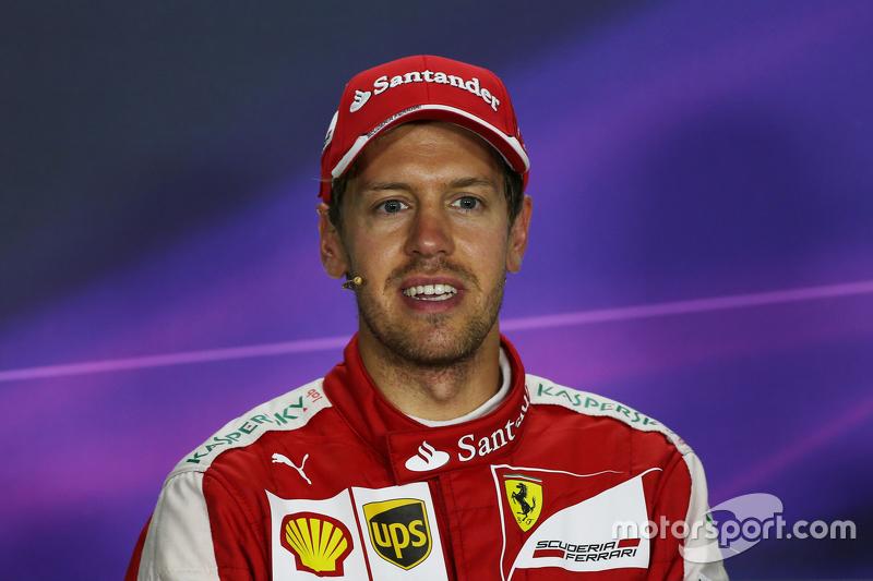 Себастьян Феттель, Ferrari на пресс-конференції FIA