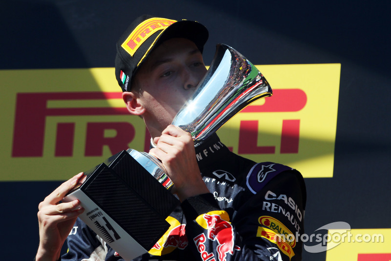 2015 - Grand Prix von Ungarn: Daniil Kvyat, Red Bull Racing RB11