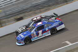Brennan Poole, HScott Motorsports with Chip Ganassi and Elliott Sadler, Roush Fenway Racing Ford