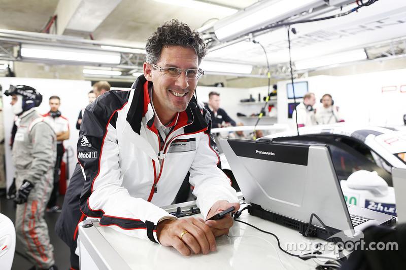 Dr. Frank-Steffen Walliser, Kepala Porsche Team