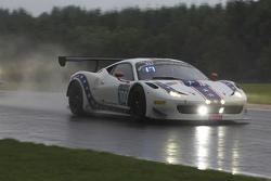 #100 Dragonspeed Ferrari 458 Italia: Henrik Hedman, Ryan Dalziel, Elton Julian, Anthony Lazzaro