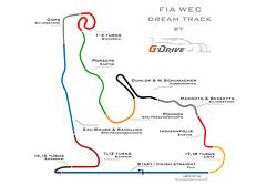 FIA WEC dream track por G-Drive Racing