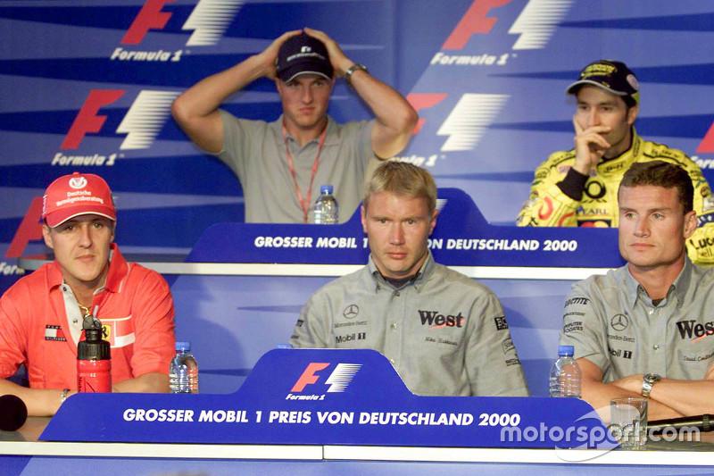 Konferensi pers Kamis: Michael Schumacher, Ferrari dan Ralf Schumacher, BMW Williams dan Mika Hakkin