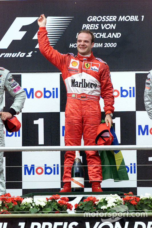 Pemenang balapan, Rubens Barrichello, Ferrari
