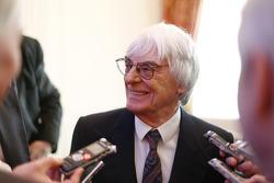 Bernie Ecclestone, CEO de Fórmula Uno