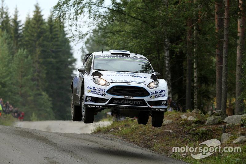 Ott Tanak, dan Molder Raigo, M-Sport Ford Fiesta WRC