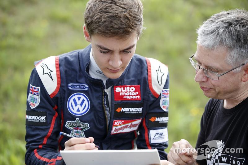 George Russell, Carlin Dallara Volkswagen