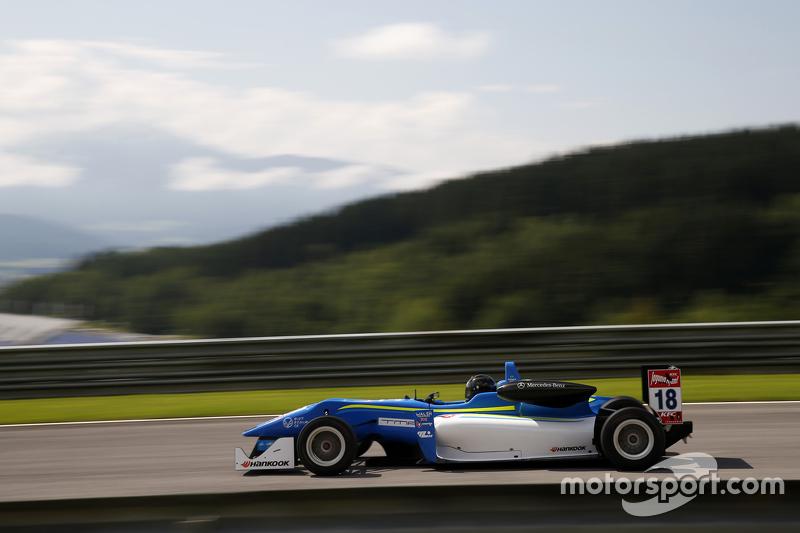 Matheus Leist, Double R Racing Dallara Mercedes-Benz