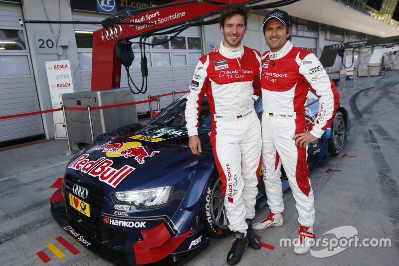 Mattias Ekström, Audi Sport - Takım: Abt Sportsline, Audi A5 DTM ve Felix Neureuther