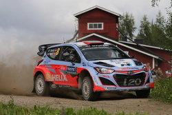 Daniel Sordo dan Marc Marti, Hyundai i20 WRC, Hyundai Motorsport