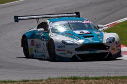 #2 Oman Racing Team Aston Martin Vantage GT4: Phil Dryburgh, Mat Jackson