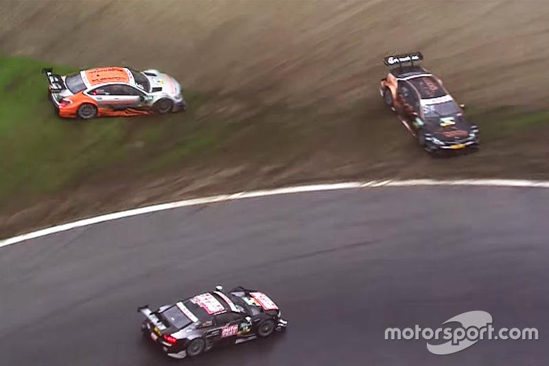 Timo Scheider, Audi Sport Team Phoenix Audi RS 5 DTM melanjutkan, sedangkan Pascal Wehrlein, HWA AG