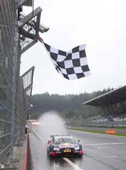 Победитель гонки: Маттиас Экстрем, Audi Sport Team Abt Sportsline, Audi A5 DTM