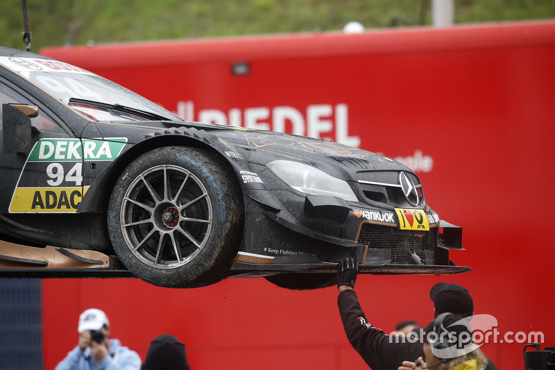 Mobil dari Pascal Wehrlein, HWA AG Mercedes-AMG C63 DTM