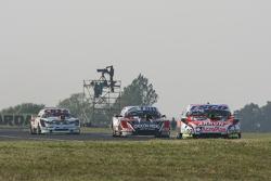 Christian Ledesma, Jet Racing Chevrolet dan Jose Manuel Urcera, JP Racing Torino dan Carlos Okulovich, Maquin Parts Racing Torino