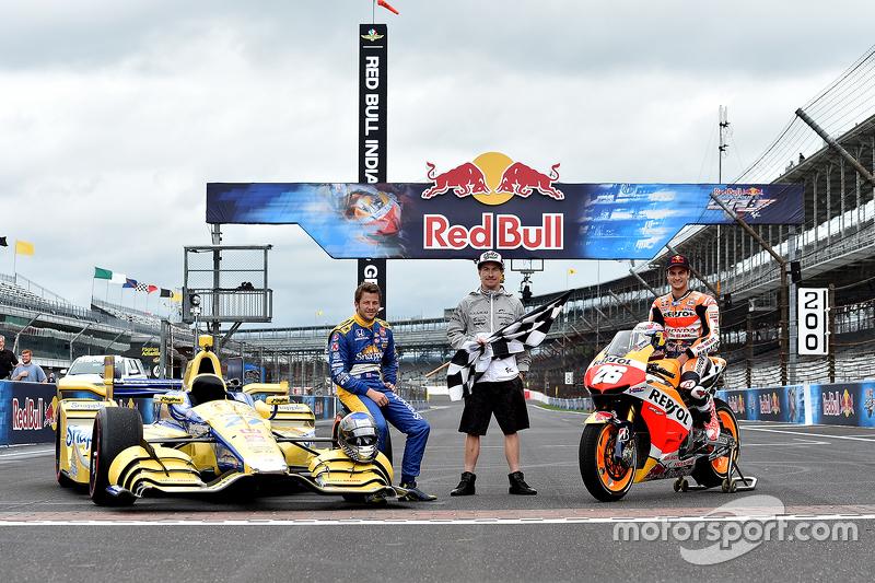 Марко Андретті, Andretti Autosport Honda та Дані Педроса, Repsol Honda Team та Нікі Хейден