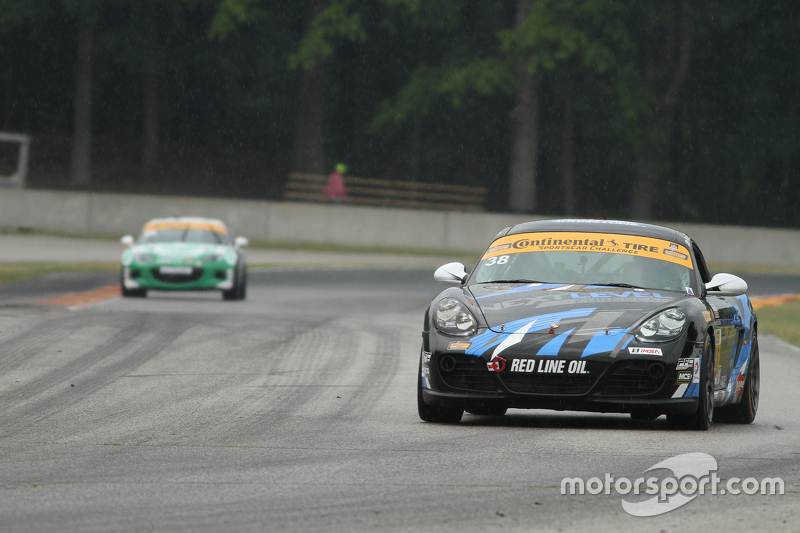 #38 Next Level European Porsche Cayman: Dan Rogers, Seth Thomas
