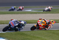 Jorge Lorenzo, Yamaha Factory Racing and Marc Marquez, Repsol Honda Team