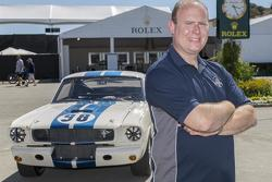 John Atzbach, owner of the Shelby GT 350 Mustang chassis #002