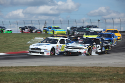 Brian Scott, Richard Childress Racing Chevrolet dan Darrell Wallace Jr., Roush Fenway Racing Ford