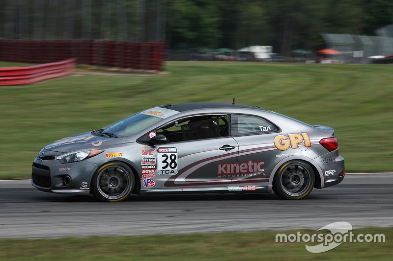 #38 Kinetic Motorsports Kia Forte Koup: Samantha Tan