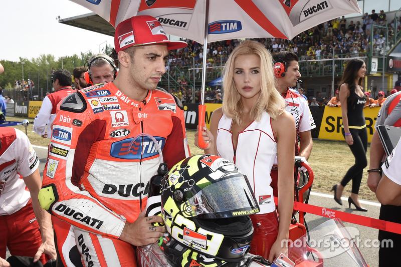 Gridgirl of Andrea Iannone, Ducati Team