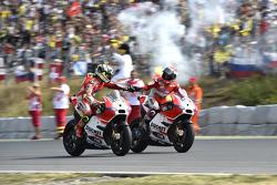 Andrea Iannone dan Andrea Dovizioso, Ducati Team