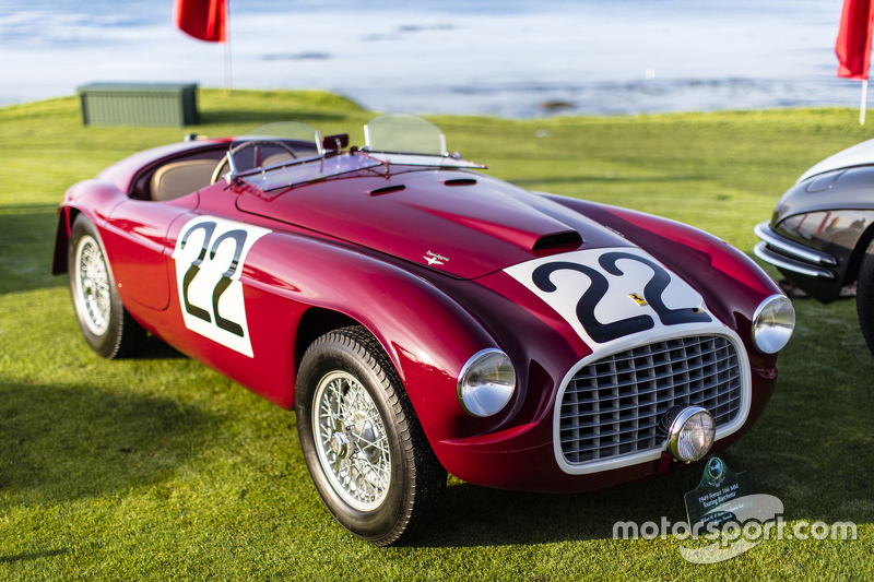 Robert M. & Anne Brockinton Lee, 1949 Ferrari 166 MM Touring Barchetta