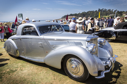 Frank & Milli Ricciardelli, 1938 Jaguar SS 100 Graber Coupe