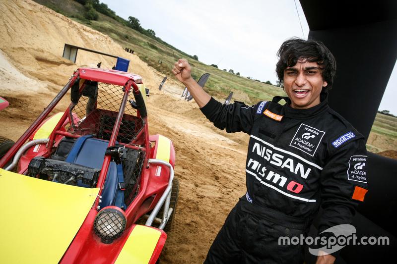 Akshay Gupta, peserta dari India