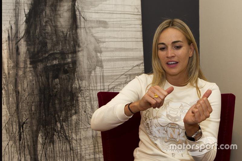 Carmen Jordá, Lotus F1 Team piloto de desarrollo
