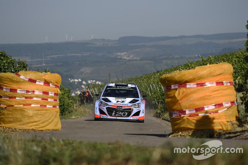 Thierry Neuville, dan Nicolas Gilsoul, Hyundai i20 WRC, Hyundai Motorsport