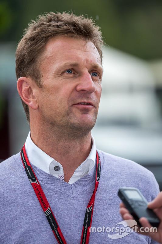 Allan McNish, apresentador BBC F1