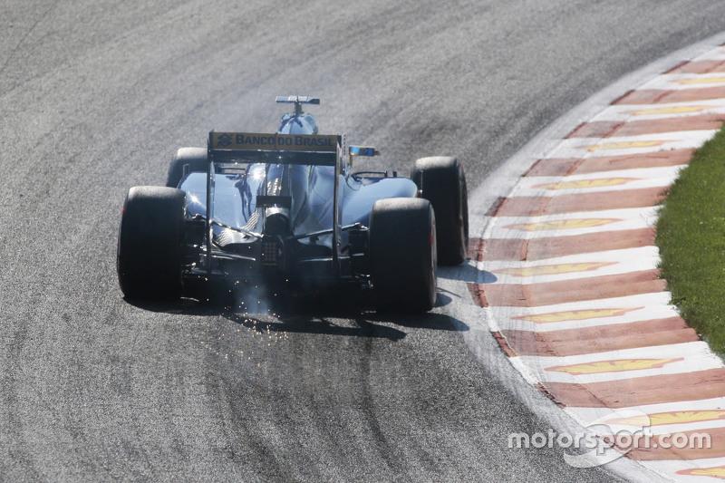 Маркус Ерікссон, Sauber C34 посилає іскри