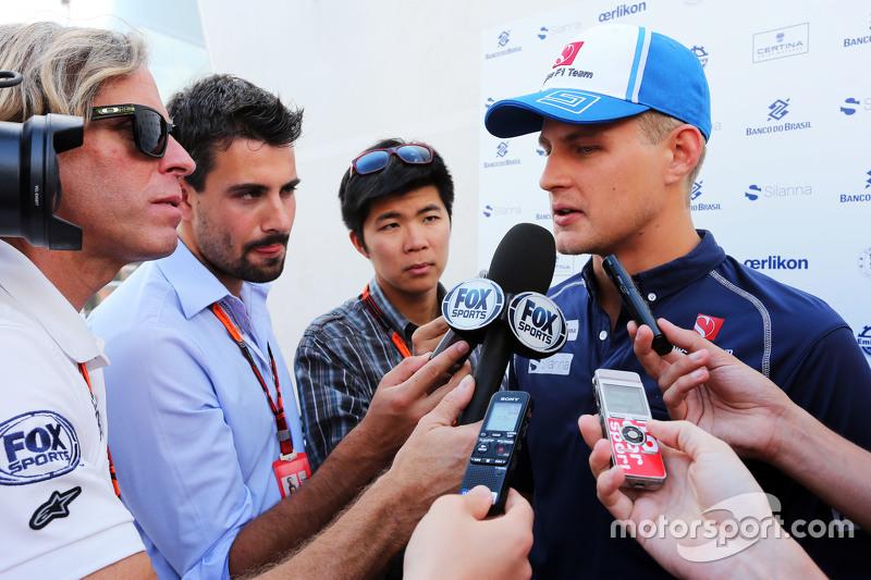Маркус Ерікссон, Sauber F1 Team з медіа