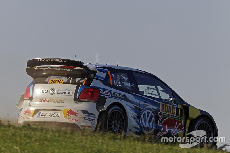 Себастьян Ожье и Жюльен Инграссиа, Volkswagen Polo WRC, Volkswagen Motorsport