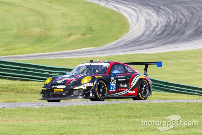 #73 Park Place Motorsports Porsche 911 GT America: Patrick Lindsey, Spencer Pumpelly