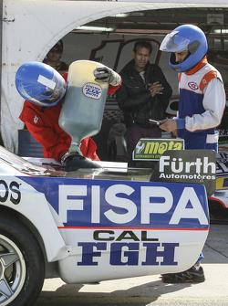 First time refueling in TC Emiliano Spataro, UR Racing Dodge