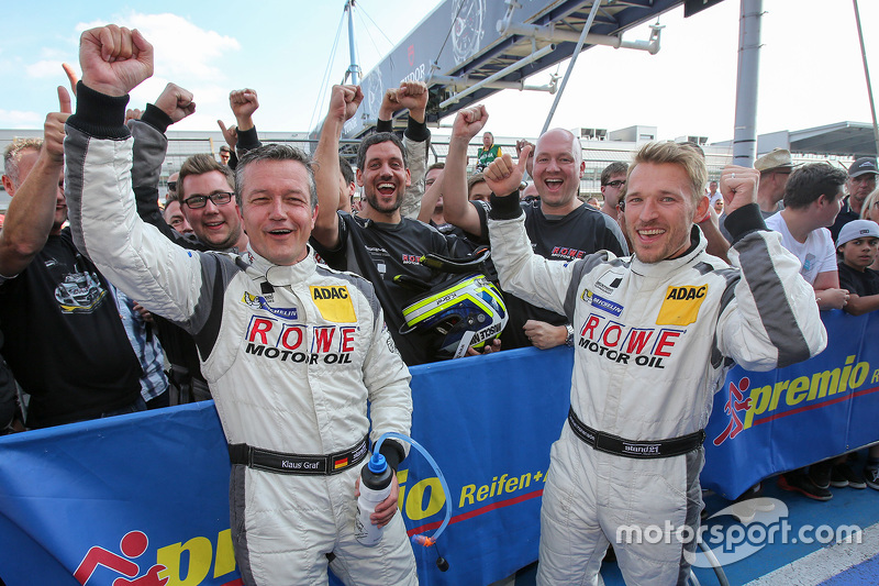 1. Klaus Graf, Christian Hohenadel, Rowe Racing
