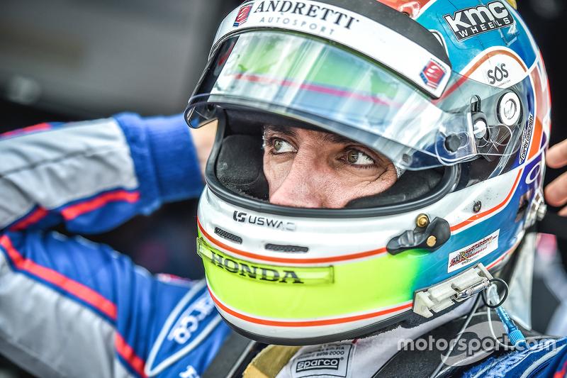 Justin Wilson, Andretti Autosport Honda