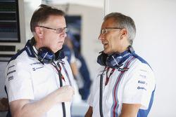 Mike O' Driscoll, Group CEO, dan Nick Rose, Non-Executive Chairman, Williams F1