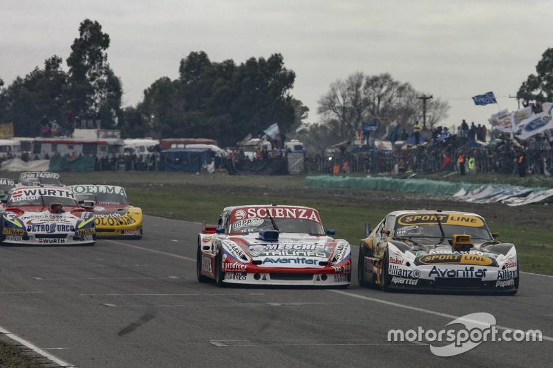 Matias Jalaf, Catalan Magni Motorsport Ford, dan Leonel Pernia, Las Toscas Racing Chevrolet, dan Jua