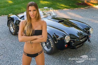 Nova namorada de Kurt Busch Ashley Van Metre